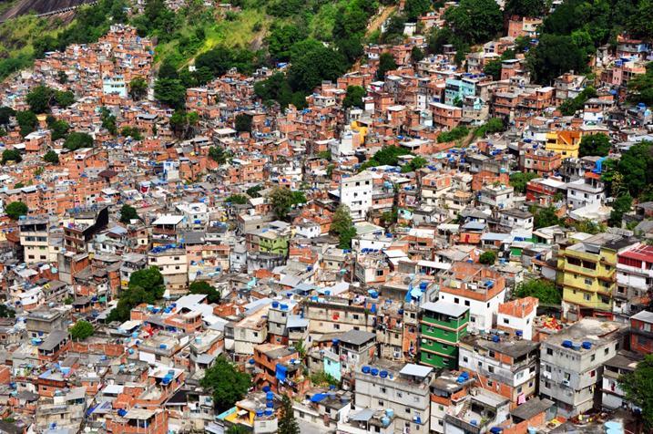 Фавелы Рио-де-Жанейро фото