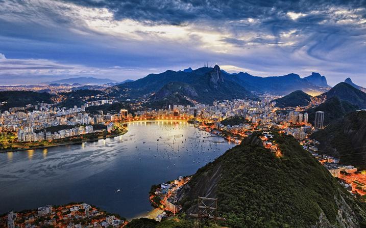 Полет в Сан-Паулу фото