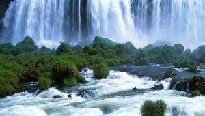 Водопады в Бразилии фото