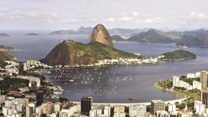 Залив в Рио-де-Жанейро фото
